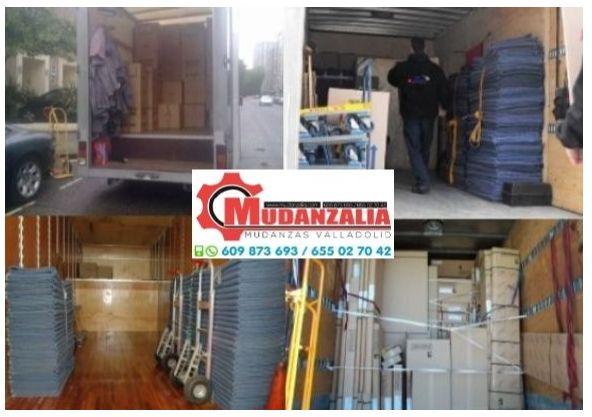 Buscar empresas de mudanzas en Ataquines Valladolid