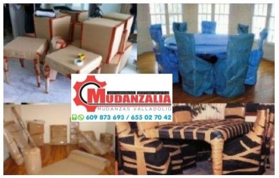 Buscar empresas de mudanzas en Campaspero Valladolid