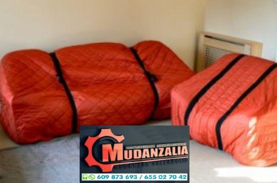 Buscar empresas de mudanzas en Castronuevo de Esgueva Valladolid
