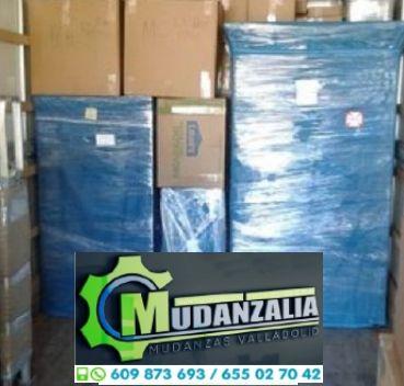 Buscar empresas de mudanzas en La Parrilla Valladolid