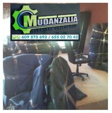 Buscar empresas de mudanzas en La Zarza Valladolid