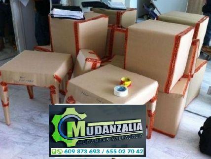 Buscar empresas de mudanzas en Montemayor de Pililla Valladolid