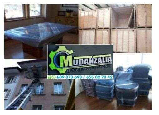 Buscar empresas de mudanzas en Olmedo Valladolid
