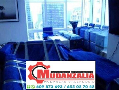 Buscar empresas de mudanzas en Palazuelo de Vedija Valladolid