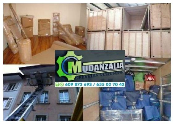 Buscar empresas de mudanzas en Quintanilla de Onésimo Valladolid