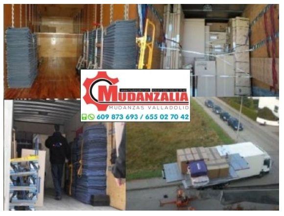 Buscar empresas de mudanzas en Santovenia de Pisuerga Valladolid