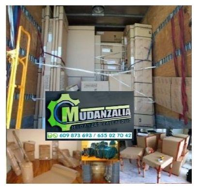 Buscar empresas de mudanzas en Tamariz de Campos Valladolid