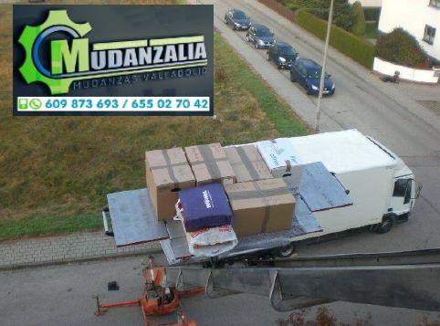 Buscar empresas de mudanzas en Castroverde de Cerrato Valladolid