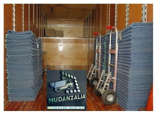 Buscar empresas de mudanzas en Villanueva de los Caballeros Valladolid