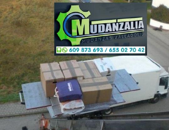 Empresa de mudanzas en Fuensaldaña Valladolid