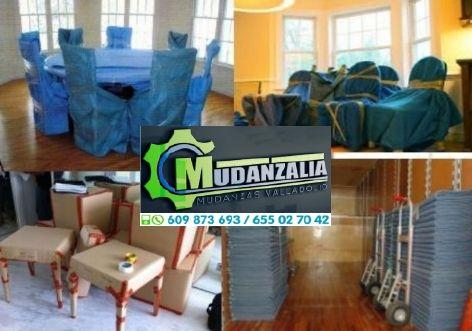 Empresa de mudanzas en Mojados Valladolid