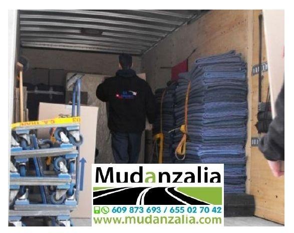 Empresas de mudanzas cerca de Barruelo del Valle Valladolid