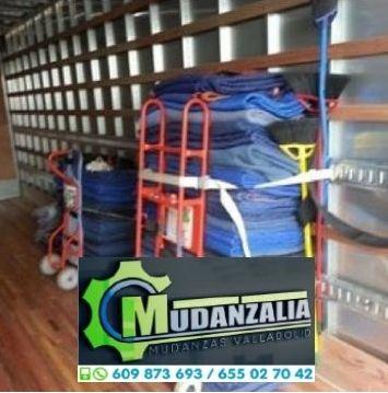 Empresas de mudanzas cerca de Campaspero Valladolid