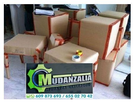Empresas de mudanzas cerca de La Mudarra Valladolid