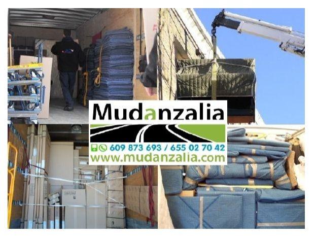 Empresas de mudanzas cerca de Medina del Campo Valladolid