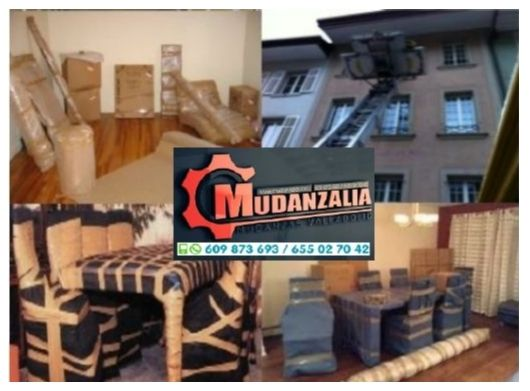 Empresas de mudanzas cerca de Mucientes Valladolid
