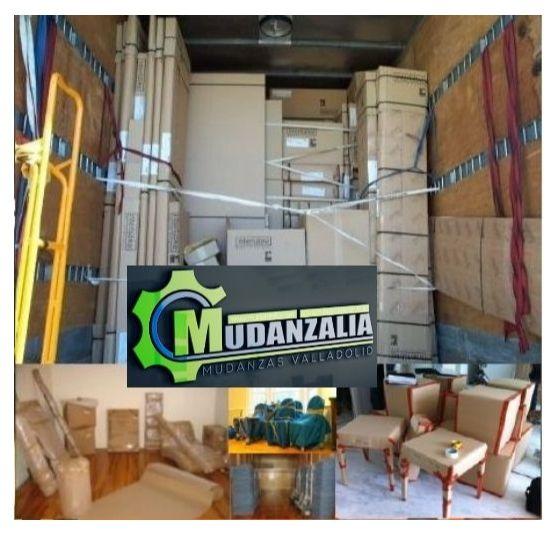 Empresas de mudanzas cerca de Saelices de Mayorga Valladolid