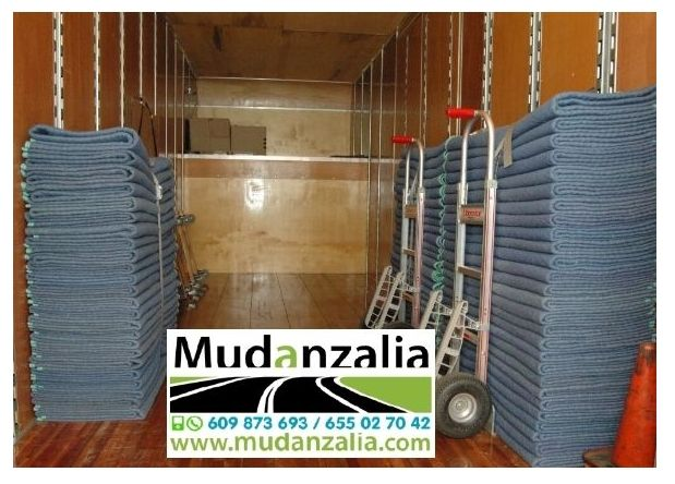 Empresas de mudanzas cerca de Villalba de la Loma Valladolid