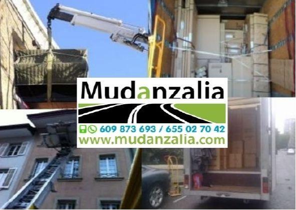 Empresas de mudanzas cerca de Villanubla Valladolid