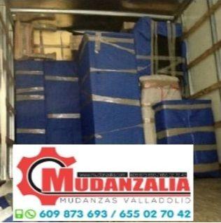 Empresas de mudanzas cerca de Villavellid Valladolid
