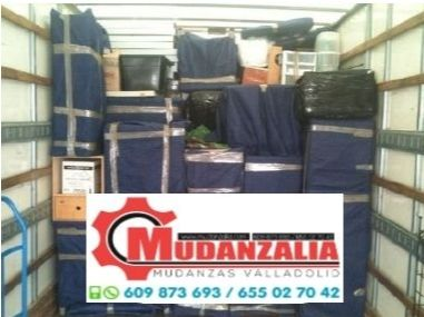 Empresas de mudanzas cerca de Viloria Valladolid
