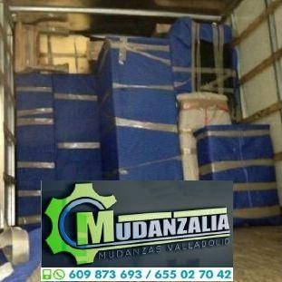 Empresas de mudanzas cerca de Zaratán Valladolid
