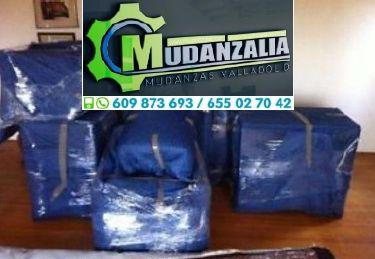 Mudanzas Guardamuebles Transportes Olmedo Valladolid