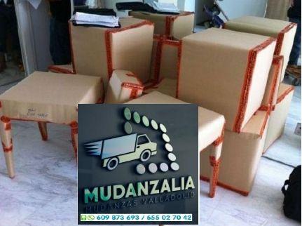 Mudanzas Guardamuebles Transportes Pedrajas de San Esteban Valladolid