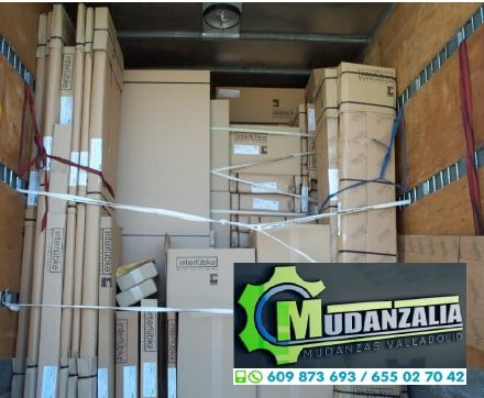 Mudanzas Guardamuebles Transportes Peñafiel Valladolid