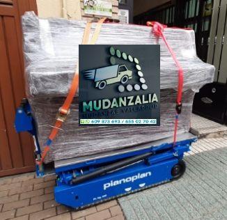 Mudanzas Guardamuebles Transportes Villalón de Campos Valladolid