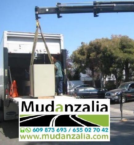 Mudanzas de objetos pesados Valladolid