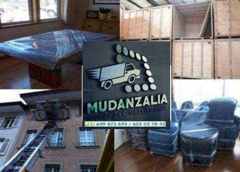 Presupuestos de mudanzas en Fuensaldaña Valladolid