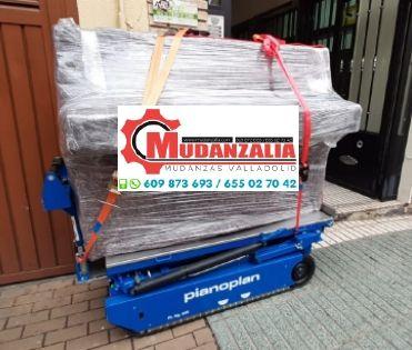 Transportar piano Valladolid