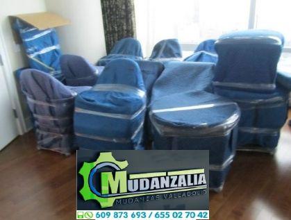 Transporte muebles Valladolid